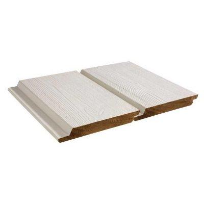 Gemalte Fassadenverkleidung Kurve 18 x 118/141/185 mm