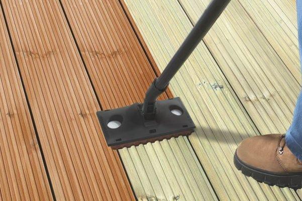 Beschichtung von Holzterrassen