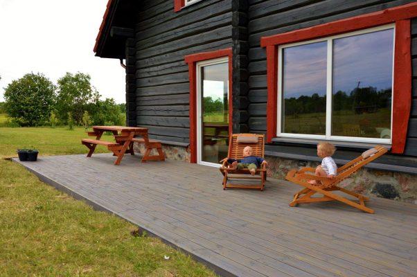 Terrassen Oberflächen und Beschichtungen