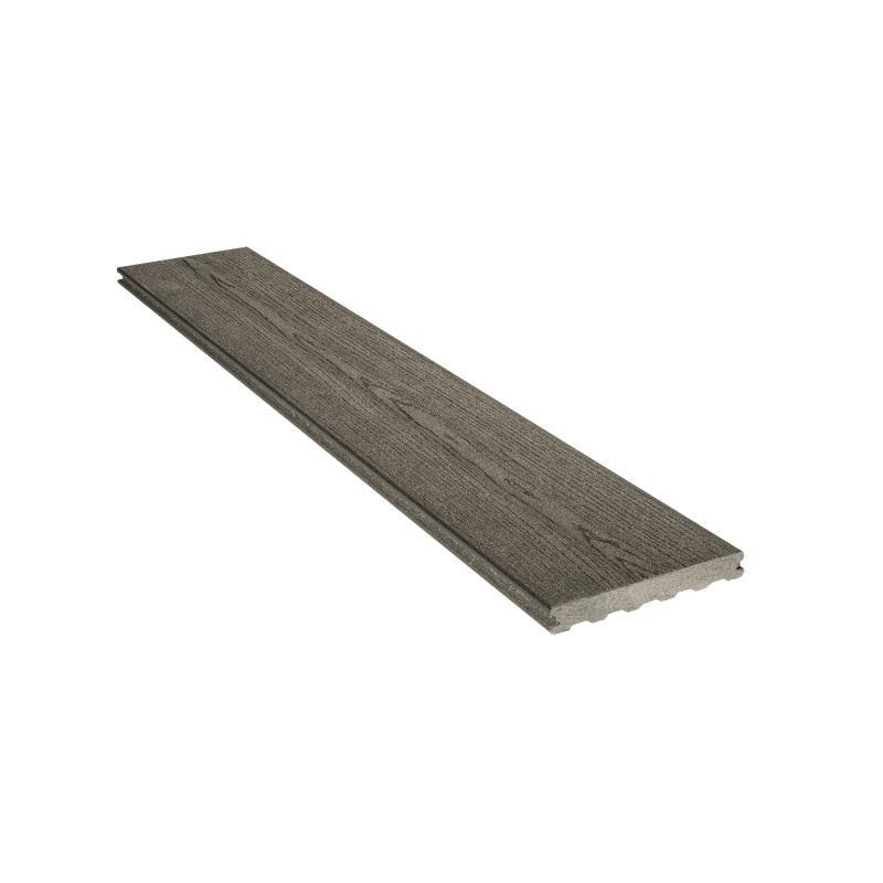 Holzverbund Terrassendielen Eleganz T 23 x 138/180 mm Dunkelgrau