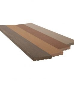 Holzverbund Abschlussbretter 23 x 138/180 mm